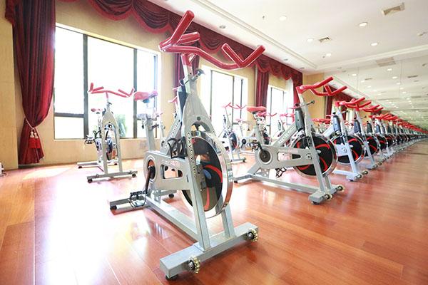 健身教练培训动感单车
