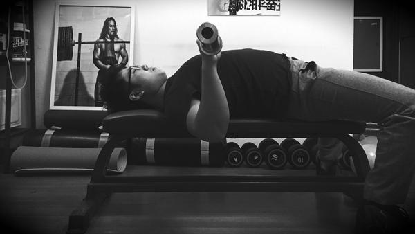 健身教练培训杠铃