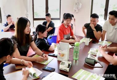湖南木威凯发体育app学院-学员学习图片