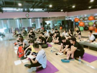 木威健身学院 国家职业资格培训84期上课进行中